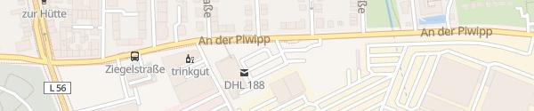 Karte ALDI Süd Düsseldorf
