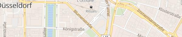Karte Parkhaus Schadow Arkaden Düsseldorf