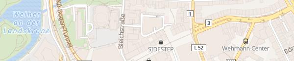 Karte Parkhaus Schadowstraße Düsseldorf