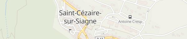 Karte Boulevard Courmes Saint-Cézaire-sur-Siagne