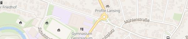 Karte Gymnasium Georgianum Vreden