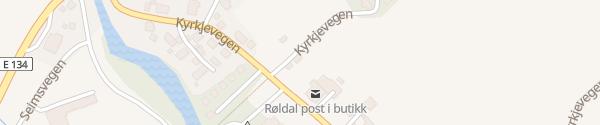 Karte Coop Røldal