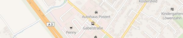 Karte Auto M&K Postert Oberhausen