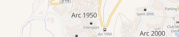 Karte Parking Bourg-Saint-Maurice