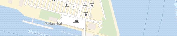 Karte Borkumfähre Eemshaven