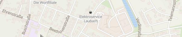 Karte Parkplatz Münsterstraße Euskirchen