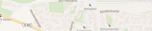 Karte Deterskamp Emlichheim