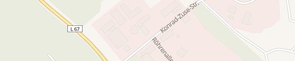 Karte Technologie und Gründerzentrum Daun Nerdlen