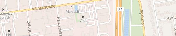 Karte Aldi Süd Lövenich