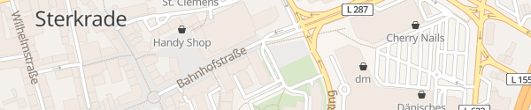 Karte Technisches Rathaus Oberhausen