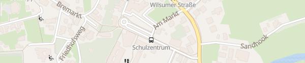 Karte Busbahnhof Lägen Diek Emlichheim