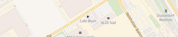 Karte Betriebsverpflegung Blum Düsseldorf