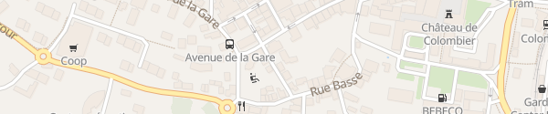 Karte Mairie Colombier