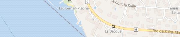 Karte Nestlé La Tour-de-Peilz