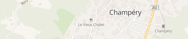 Karte Art Boutique Hotel Beau Séjour Champéry