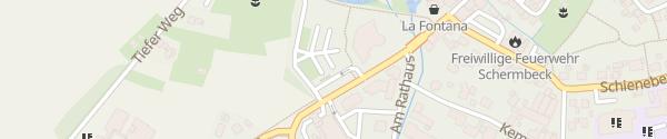 Karte Rathaus Schermbeck