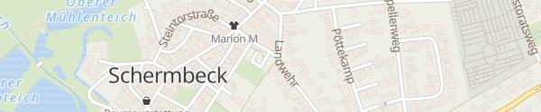 Karte Volksbank Schermbeck