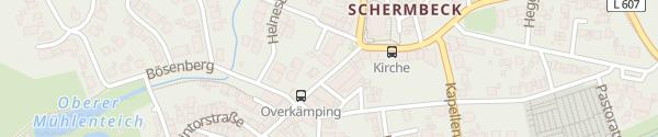 Karte Elektrohaus Cremerius Schermbeck