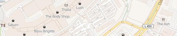 Karte CentrO Parkhaus P4 Oberhausen