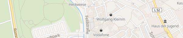 Karte E-Bike Ladesäule Platz an der Lieser Wittlich