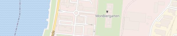 Karte Parkhaus Monberg Monheim am Rhein
