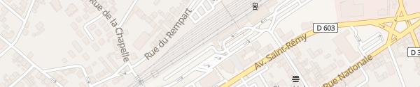 Karte Gare de Forbach Forbach