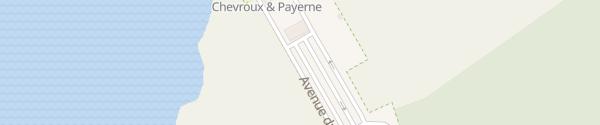 Karte Chevroux Port Parking Chevroux