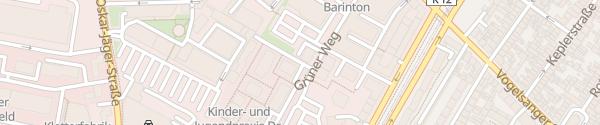 Karte Grüner Weg Köln