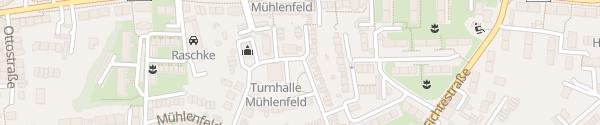 Karte Sporthalle Mülheim an der Ruhr