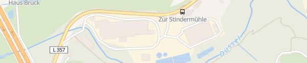 Karte Brügger Mühle Erkrath