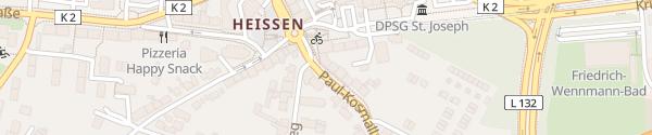 Karte Paul-Kosmalla-Straße Mülheim an der Ruhr