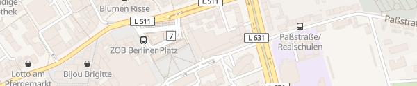 Karte Kaufland Bottrop