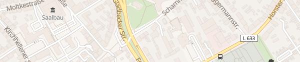 Karte Scharnhölzstraße Bottrop