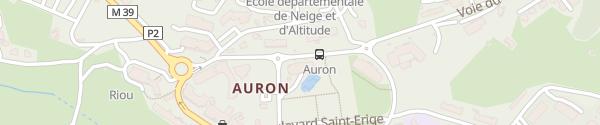 Karte Cinéma Auron