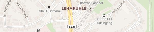 Karte Am Hauptbahnhof Bottrop