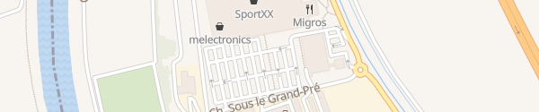 Karte Migros MMM Chablais Centre Aigle