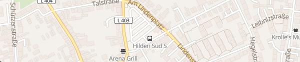 Karte Lindenplatz Hilden