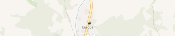 Karte Parkplatz La Thuile