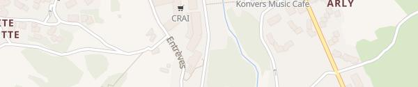 Karte Hotel Planibel La Thuile