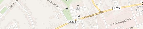 Karte Lidl Batenbrock Bottrop