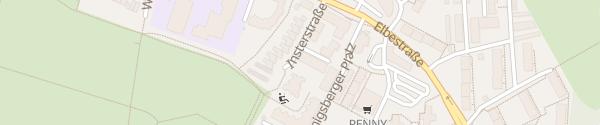 Karte Einkaufszentrum Königsberger Platz Leverkusen