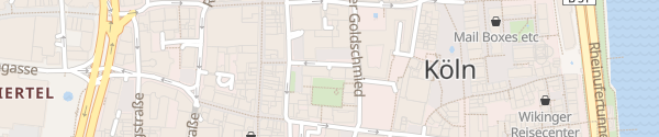 Karte Parkhaus An Farina Köln
