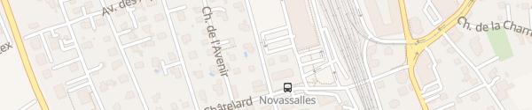 Karte Park and Ride Aigle