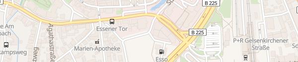 Karte Vosskamp Dorsten