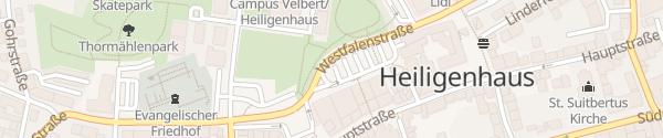 Karte Basildonplatz Heiligenhaus
