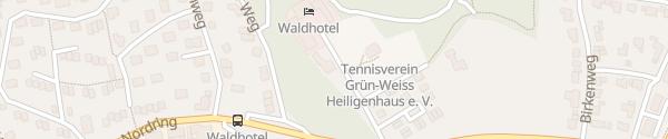 Karte Waldhotel Heiligenhaus