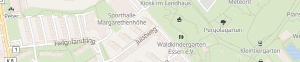Karte Juistweg Essen