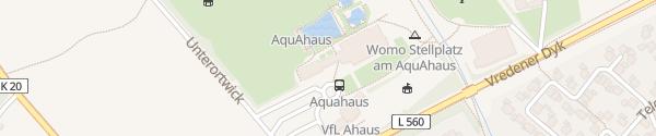 Karte AquAHAUS Ahaus