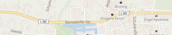 Karte innogy Ladesäule Velen