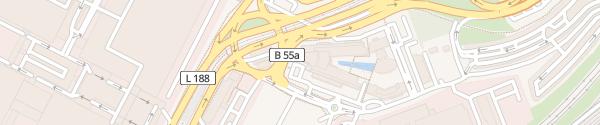 Karte Radisson Blu Köln